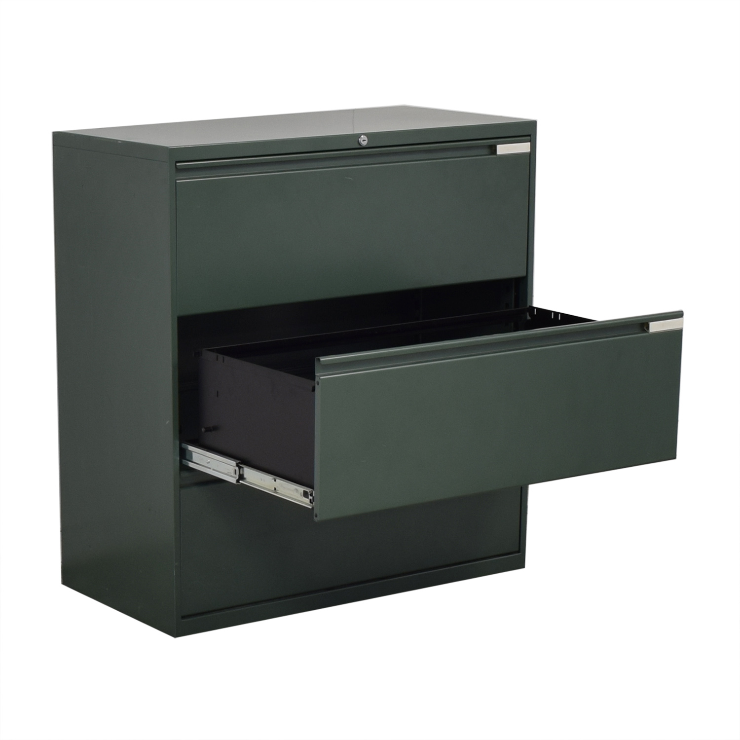Office Specialty Office Speciality Three Drawer Lateral File Cabinet second hand