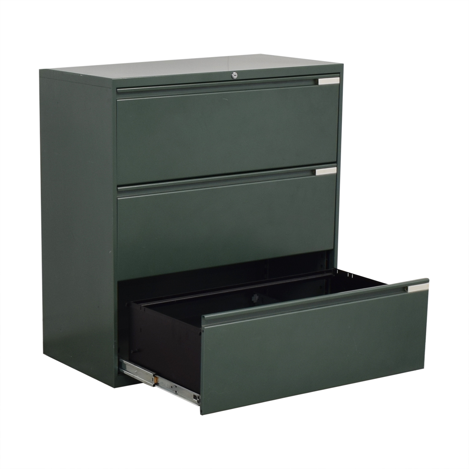 Office Specialty Office Speciality Three Drawer Lateral File Cabinet nj