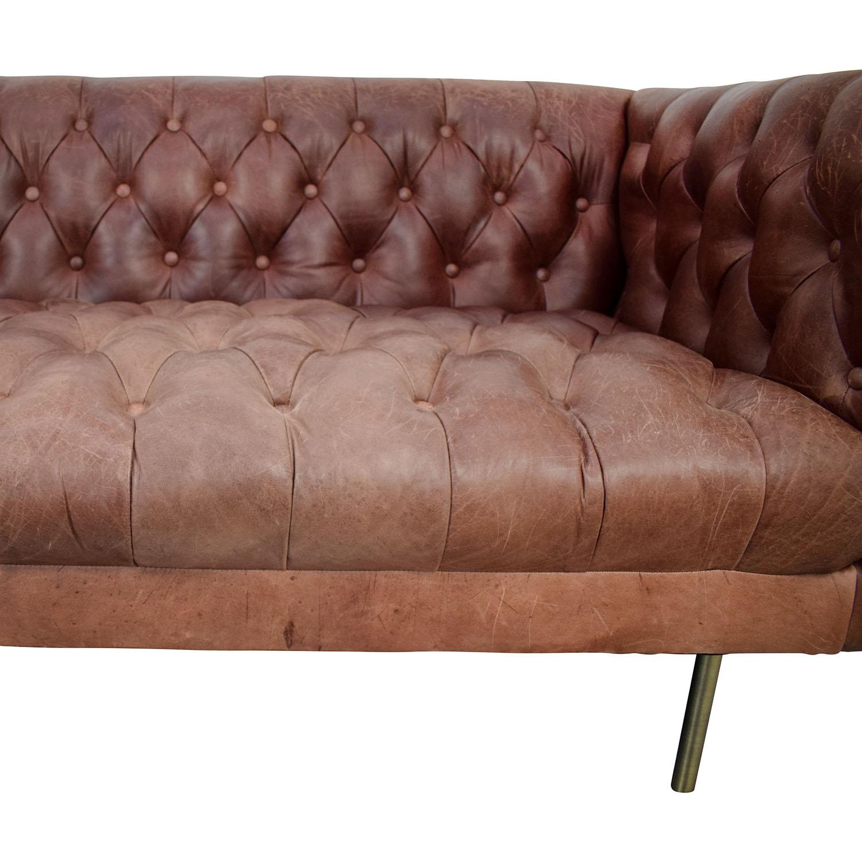 shop West Elm West Elm Modern Chesterfield Sofa online