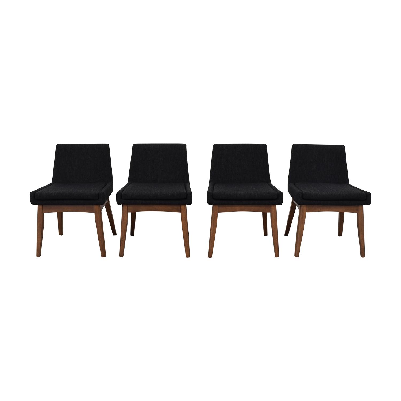 Strange 59 Off Allmodern Allmodern Stallman Mid Century Upholstered Dining Chairs Chairs Evergreenethics Interior Chair Design Evergreenethicsorg
