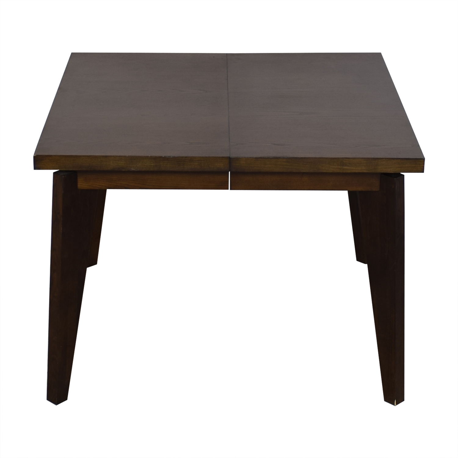 West Elm West Elm Angled-Leg Expandable Table brown