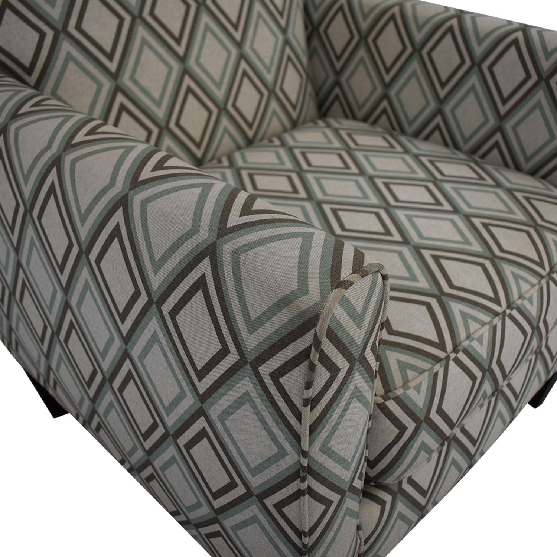 Rowe Furniture Rowe Furniture Patterned Geometric Armchair on sale