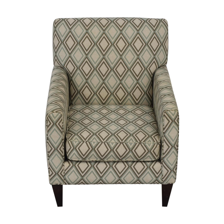Rowe Furniture Rowe Furniture Patterned Geometric Armchair price