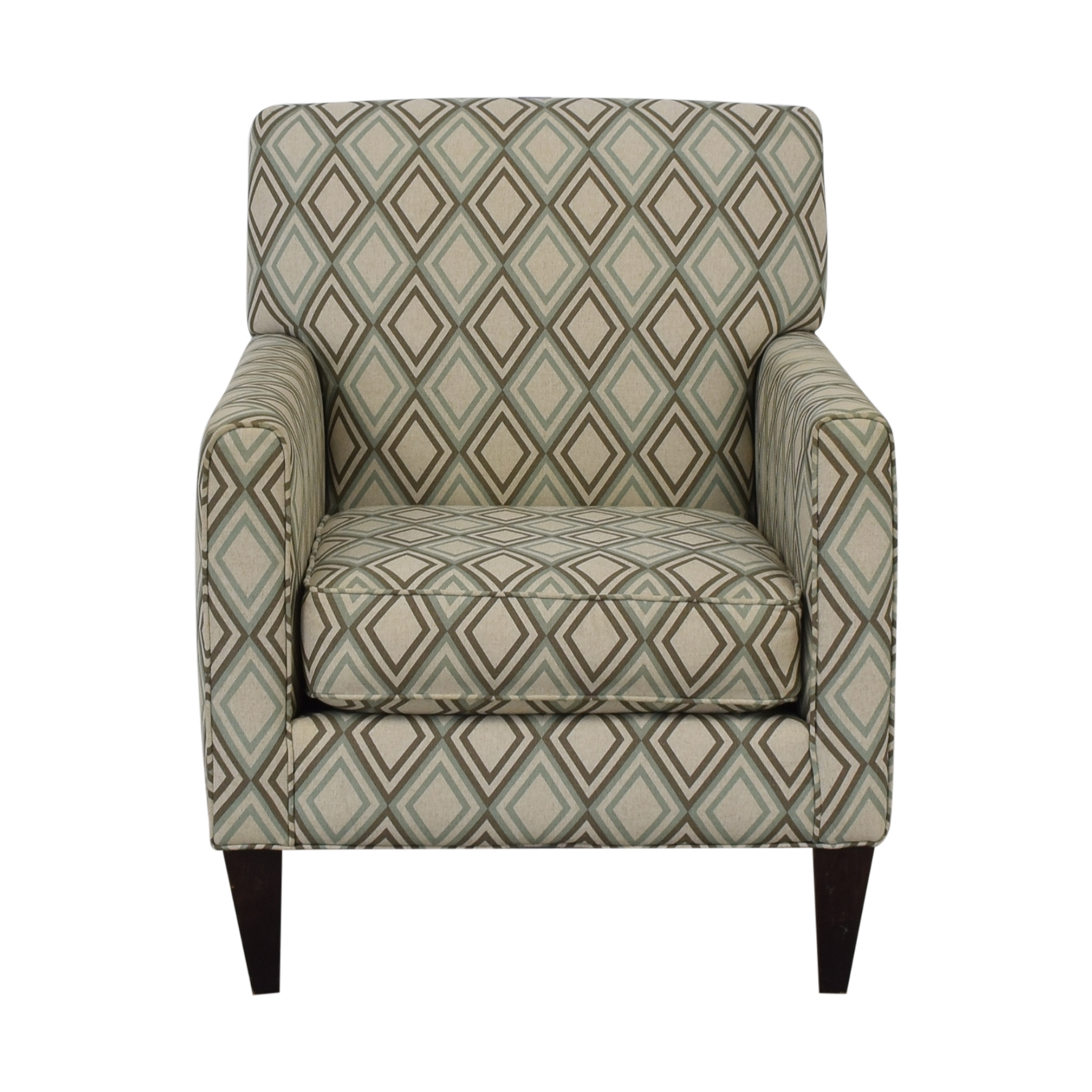 Rowe Furniture Patterned Geometric Armchair sale