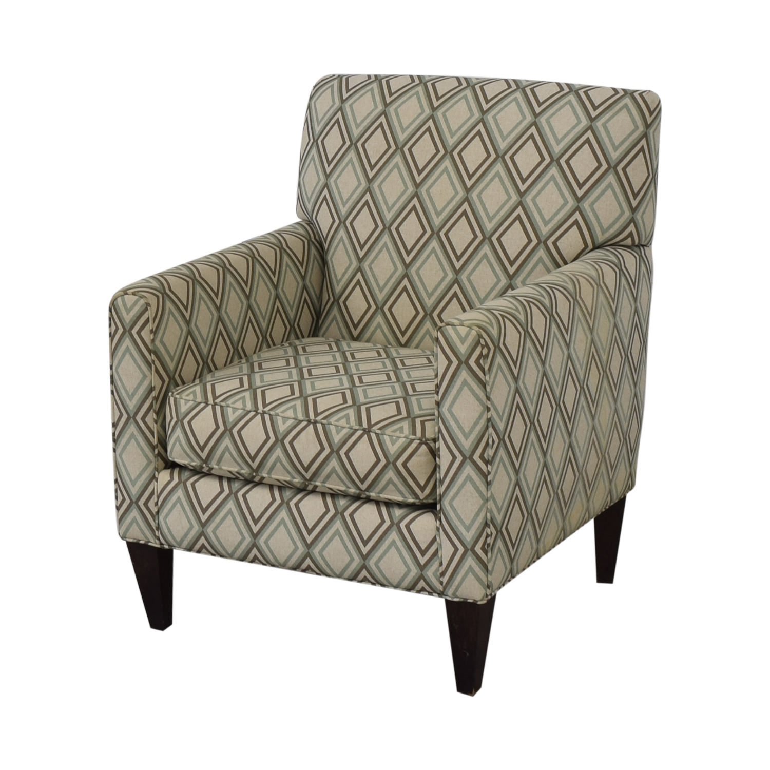 Rowe Furniture Patterned Geometric Armchair / Accent Chairs