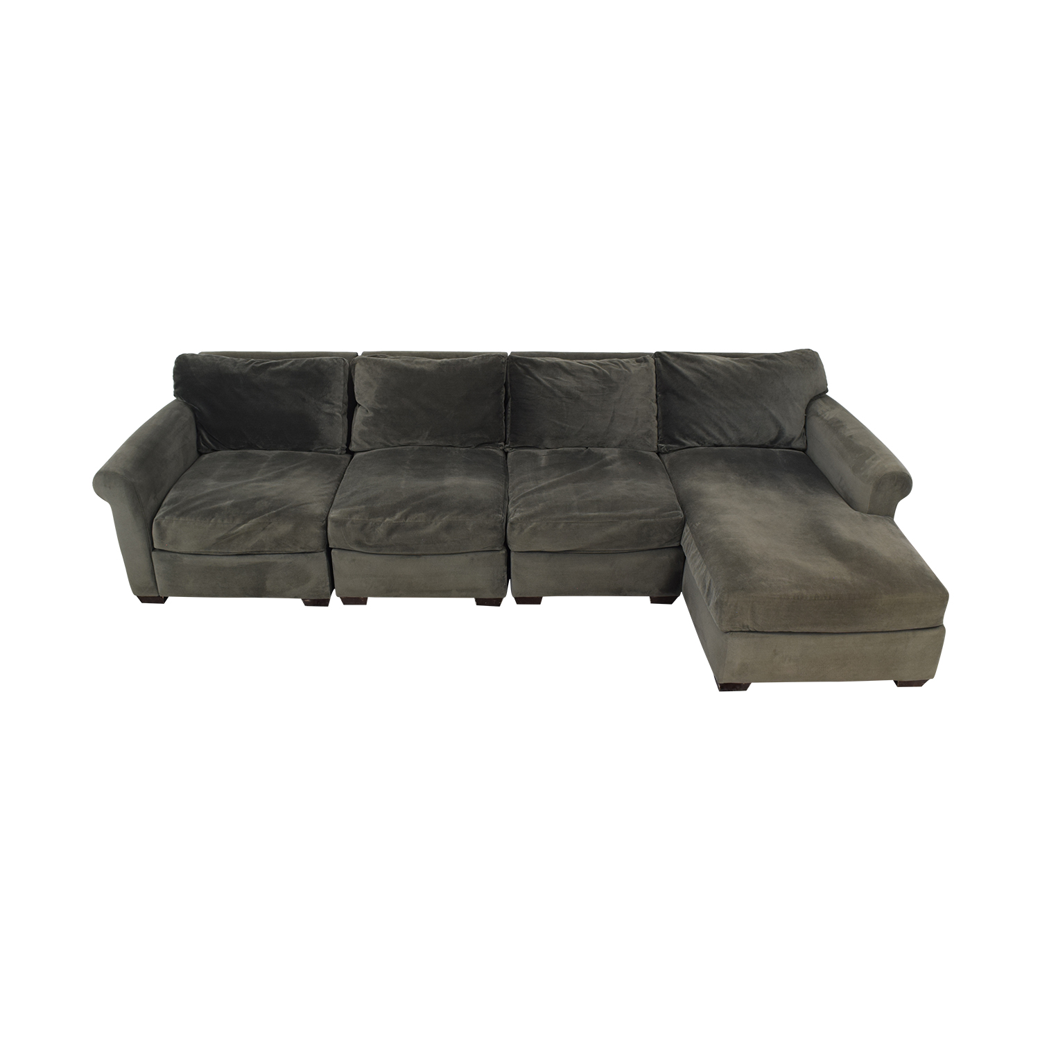 shop Macy's Chaise Sectional Sofa Macy's