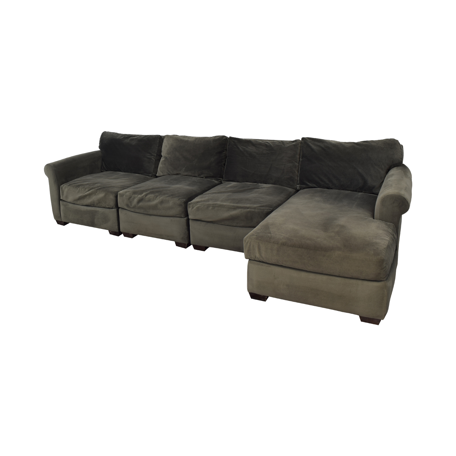 shop Macy's Chaise Sectional Sofa Macy's Sectionals