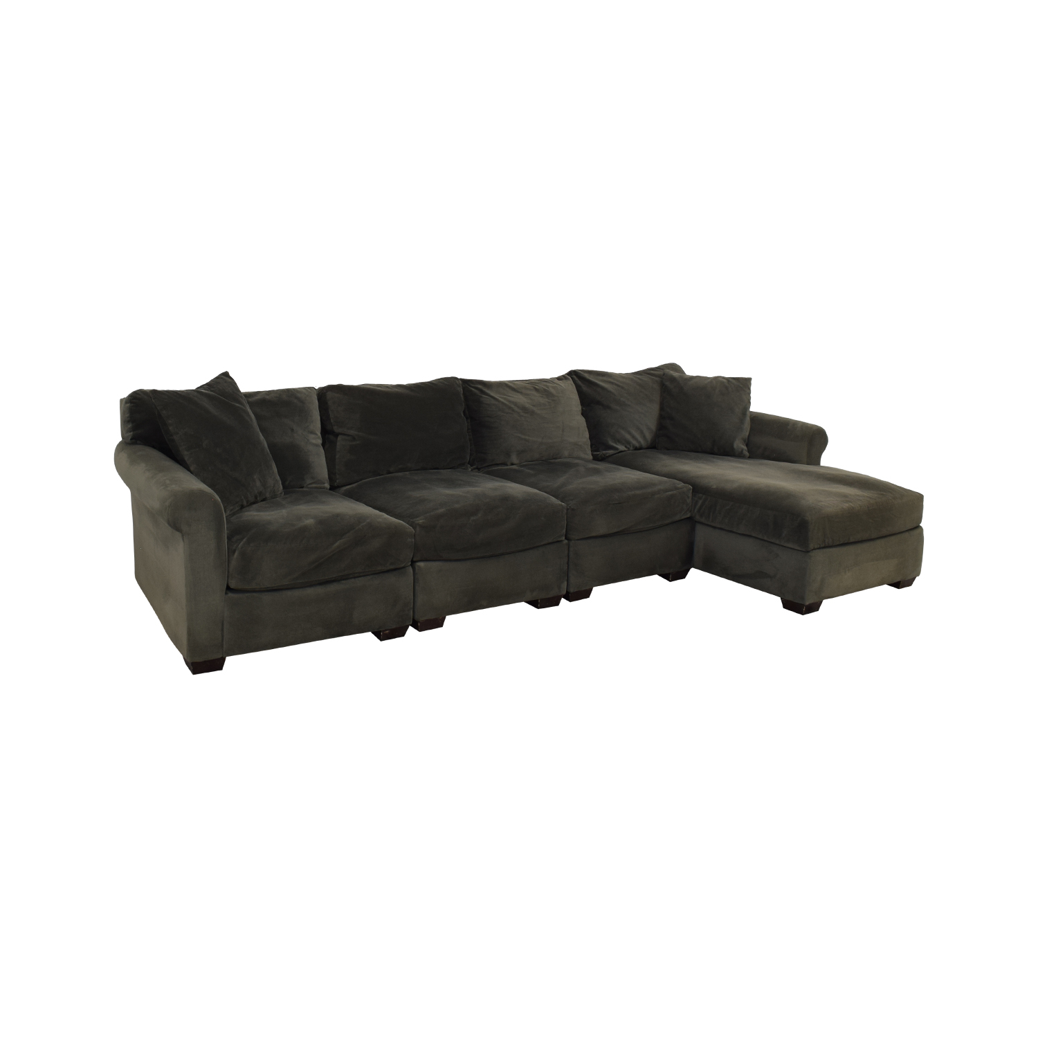 Macy's Chaise Sectional Sofa / Sectionals