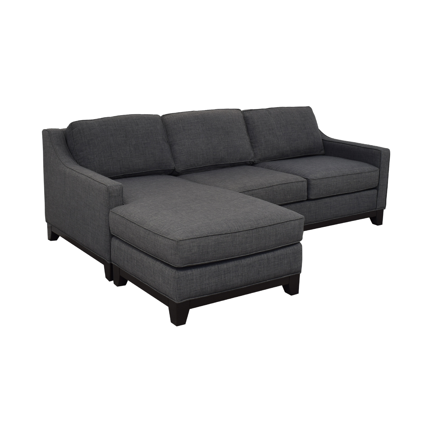 Macy's Keegan Fabric Reversible Chaise Sectional Sofa / Sectionals