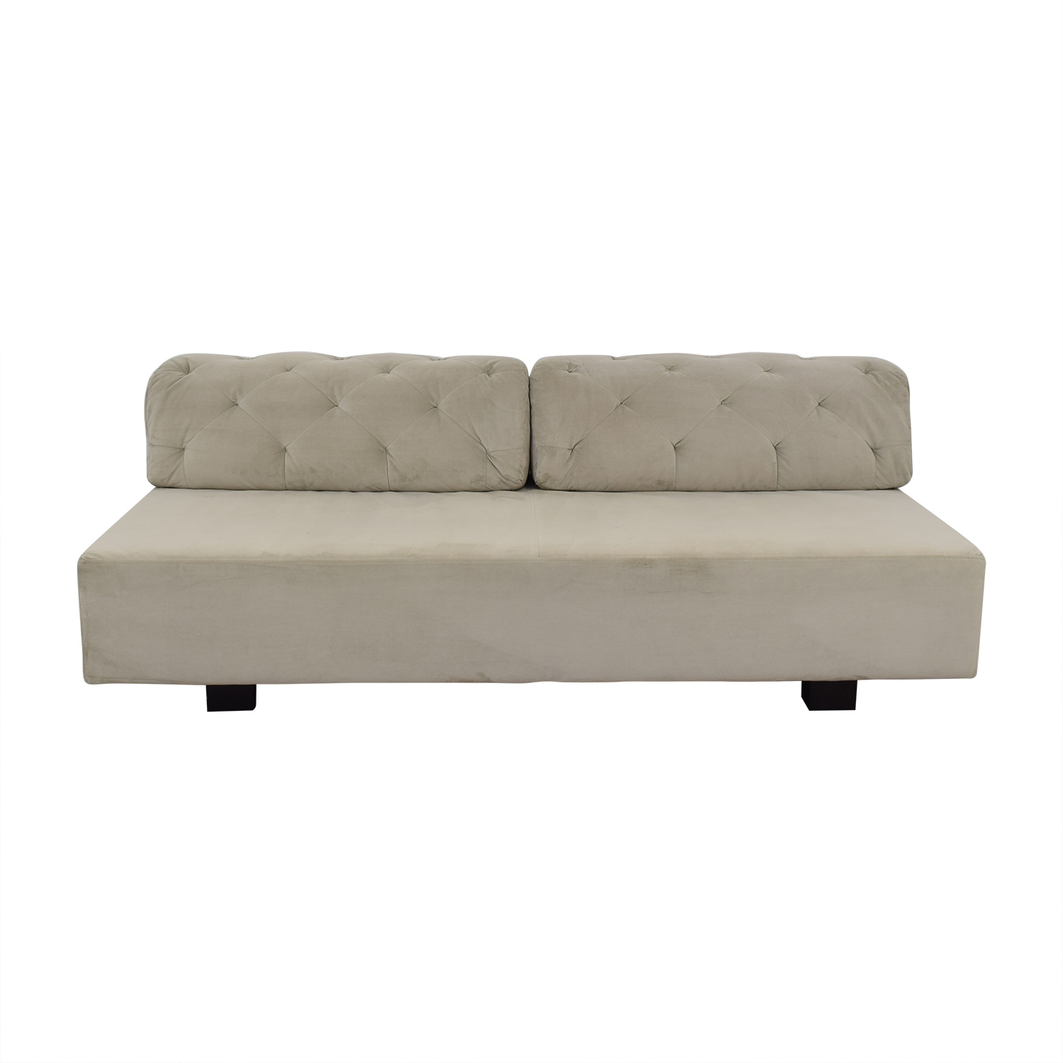 buy West Elm Tillary Armless Sofa West Elm