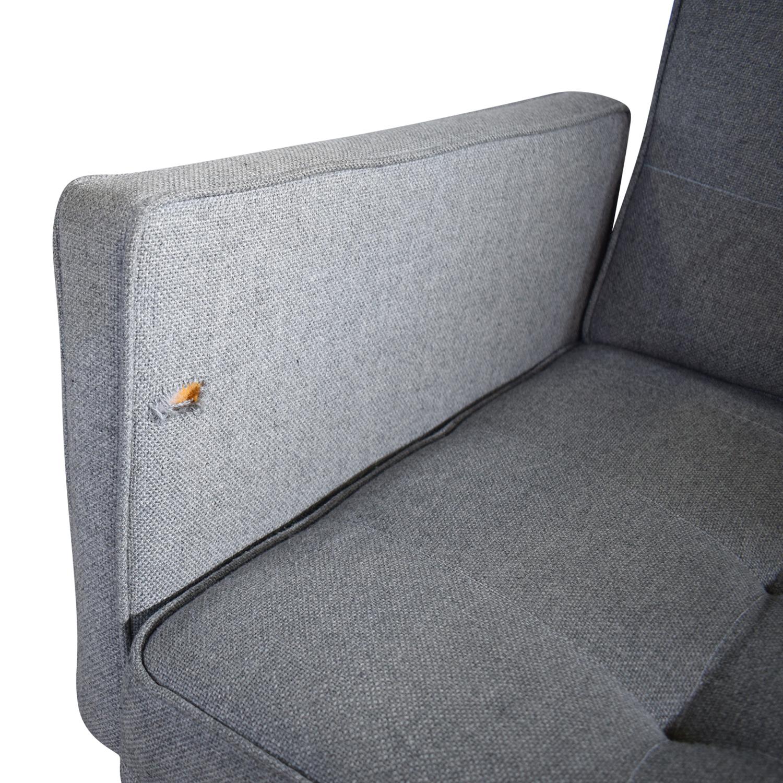 Modernica Modernica Mid-Century Modern Sofa grey