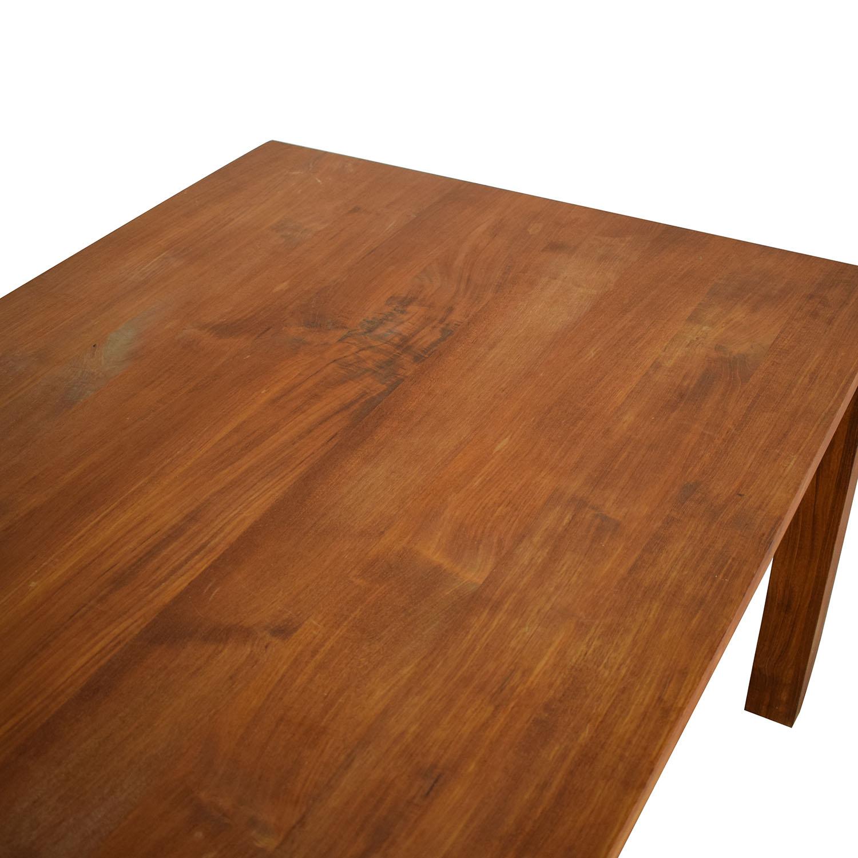 Crate & Barrel Crate & Barrel Rectangular Dining Table nj