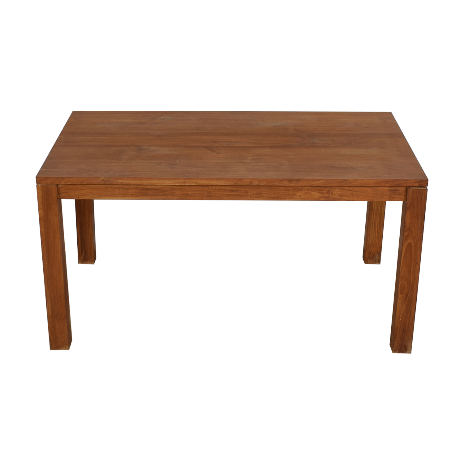 Crate & Barrel Rectangular Dining Table / Dinner Tables