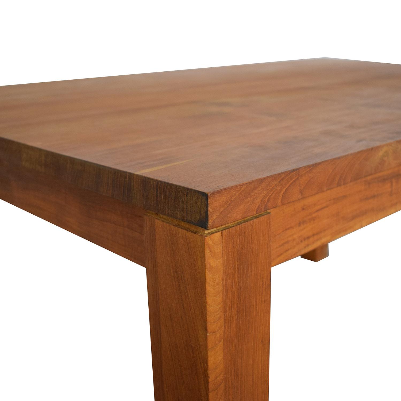 shop Crate & Barrel Crate & Barrel Rectangular Dining Table online