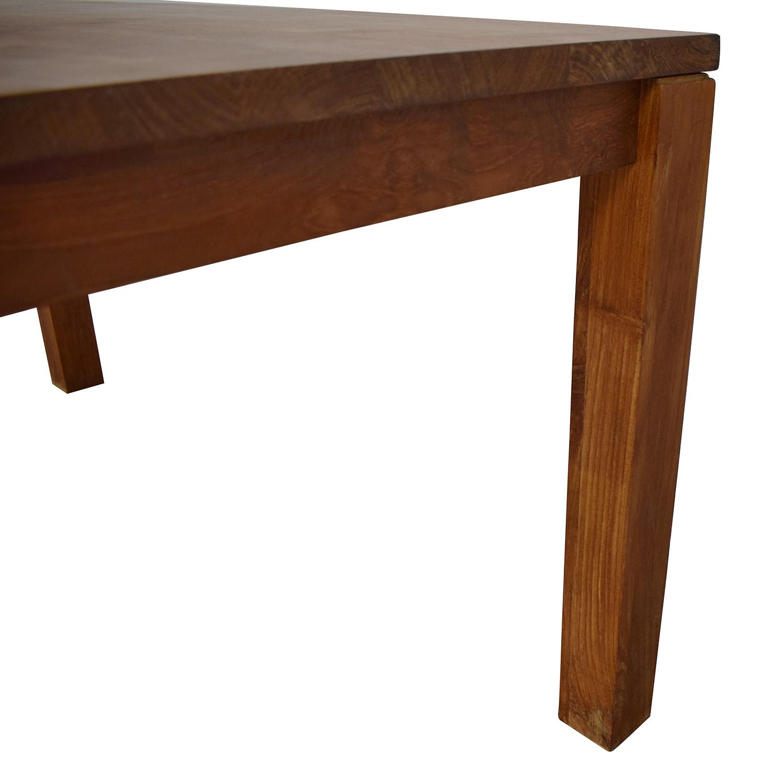 buy Crate & Barrel Rectangular Dining Table Crate & Barrel