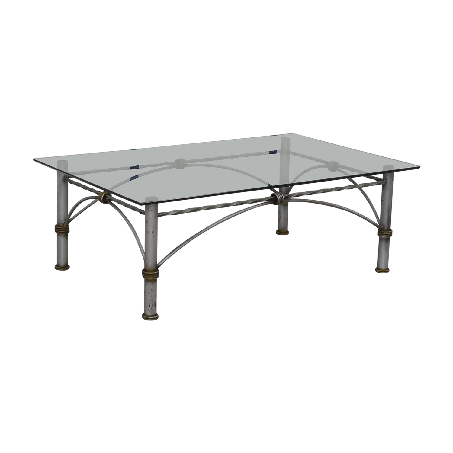 shop Restoration Hardware Glass Coffee Table Restoration Hardware Coffee Tables