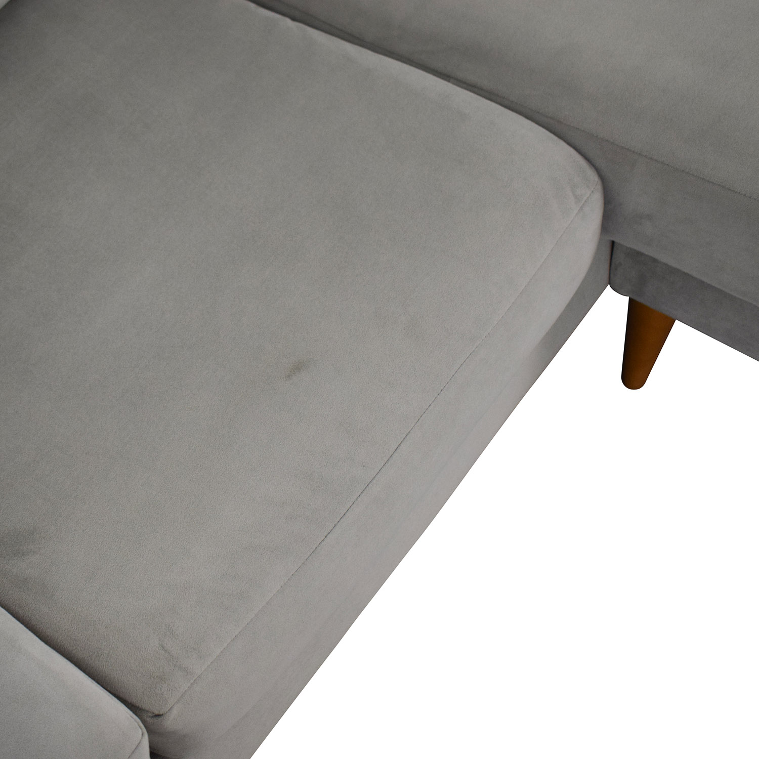 West Elm West Elm Mid Century Chaise Sectional Sofa used