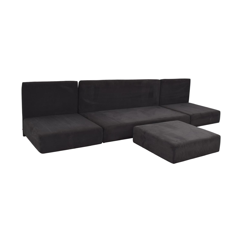 E15 E15 Shiraz Modular Sofa and Ottoman nj
