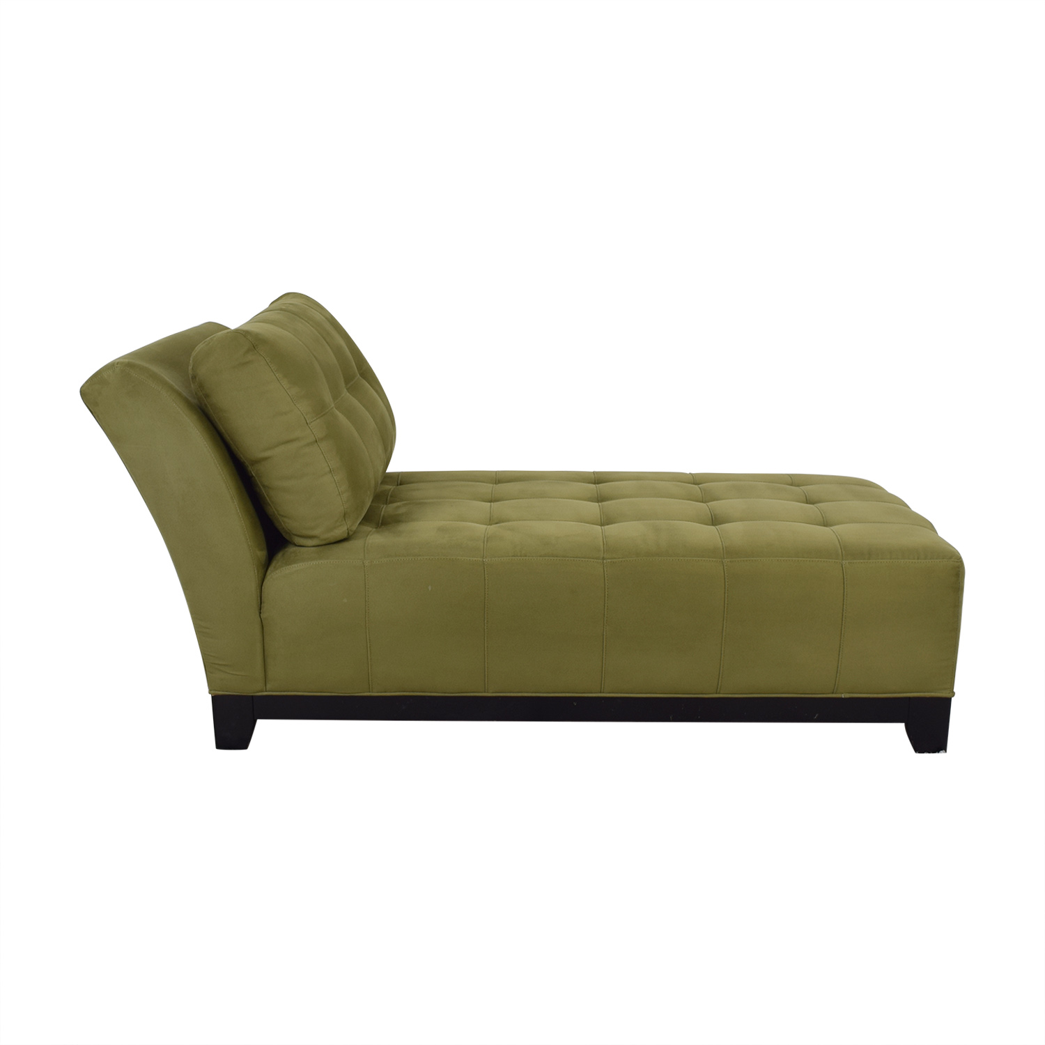 Raymour & Flanigan Raymour & Flanigan Tufted Chaise Lounge for sale