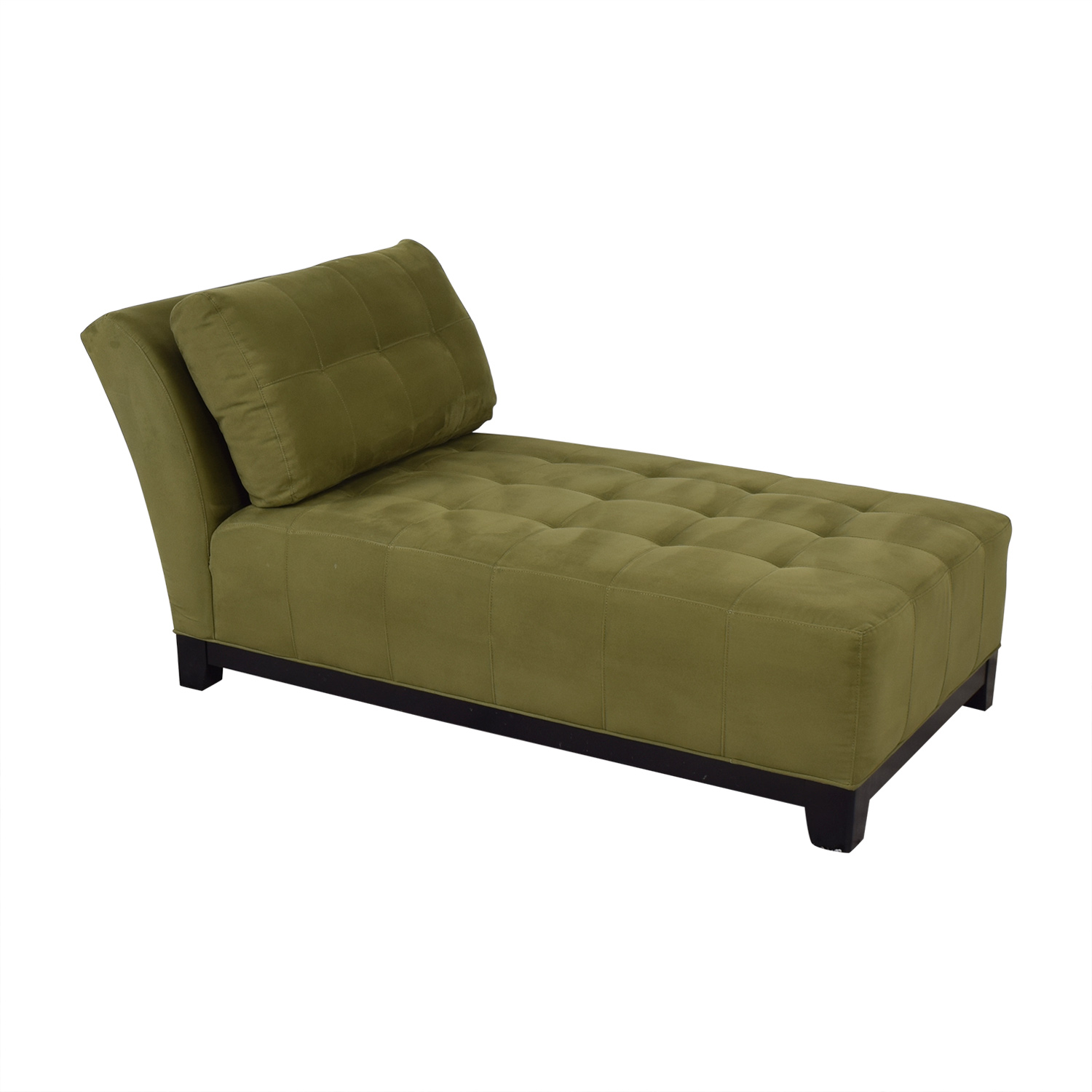 Raymour & Flanigan Raymour & Flanigan Tufted Chaise Lounge price