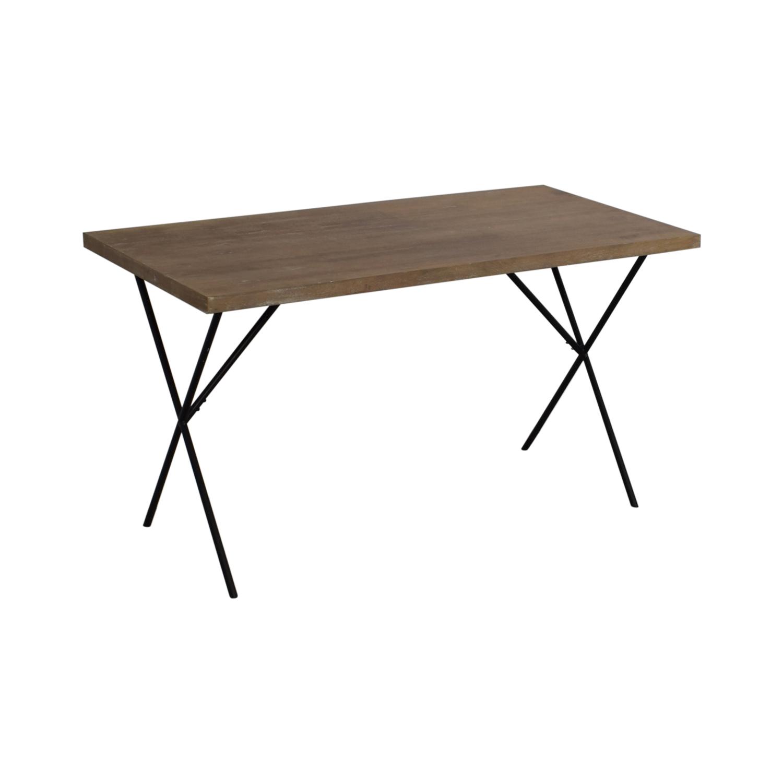 West Elm Truss Work Table / Dinner Tables