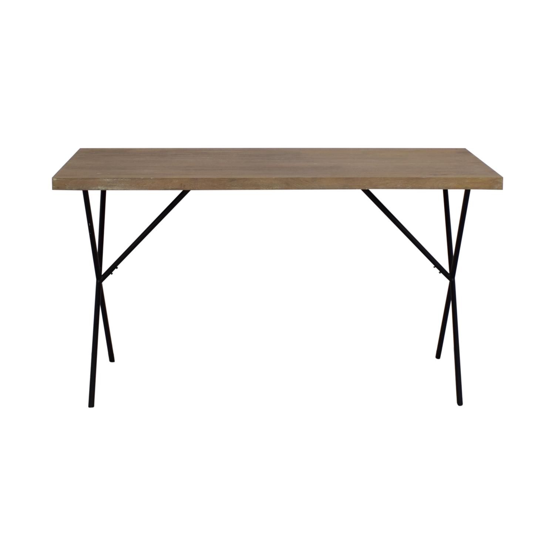 West Elm Truss Work Table sale