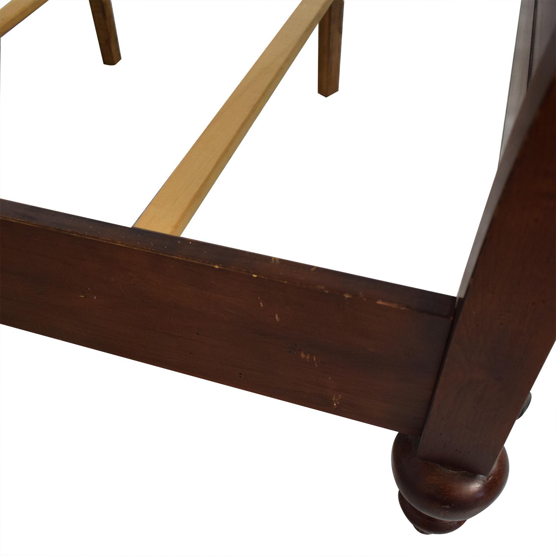 buy Ethan Allen Cayman Sleigh Bed Frame Ethan Allen