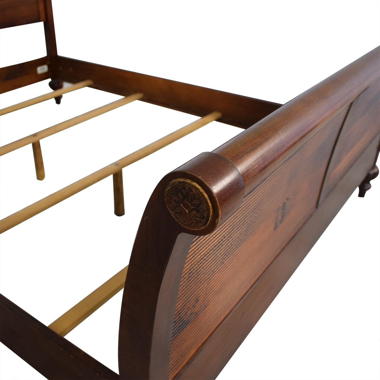 Ethan Allen Ethan Allen Cayman Sleigh Bed Frame discount