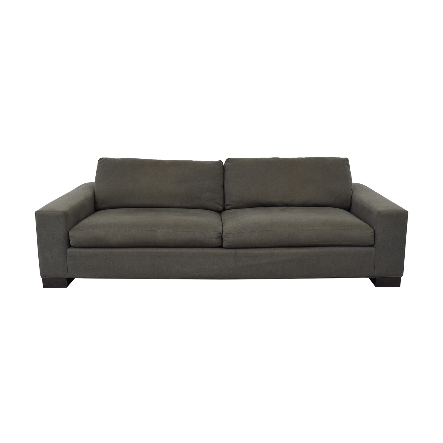 Crate & Barrel Crate & Barrel Grey Sofa on sale