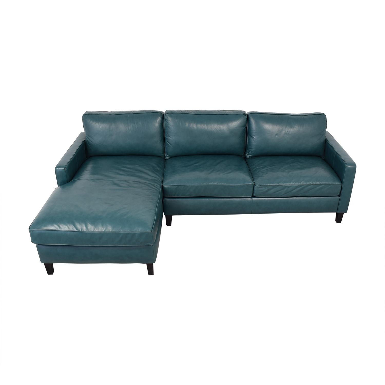 Brayden Studio Brayden Studio Chaise Sectional Sofa Sofas