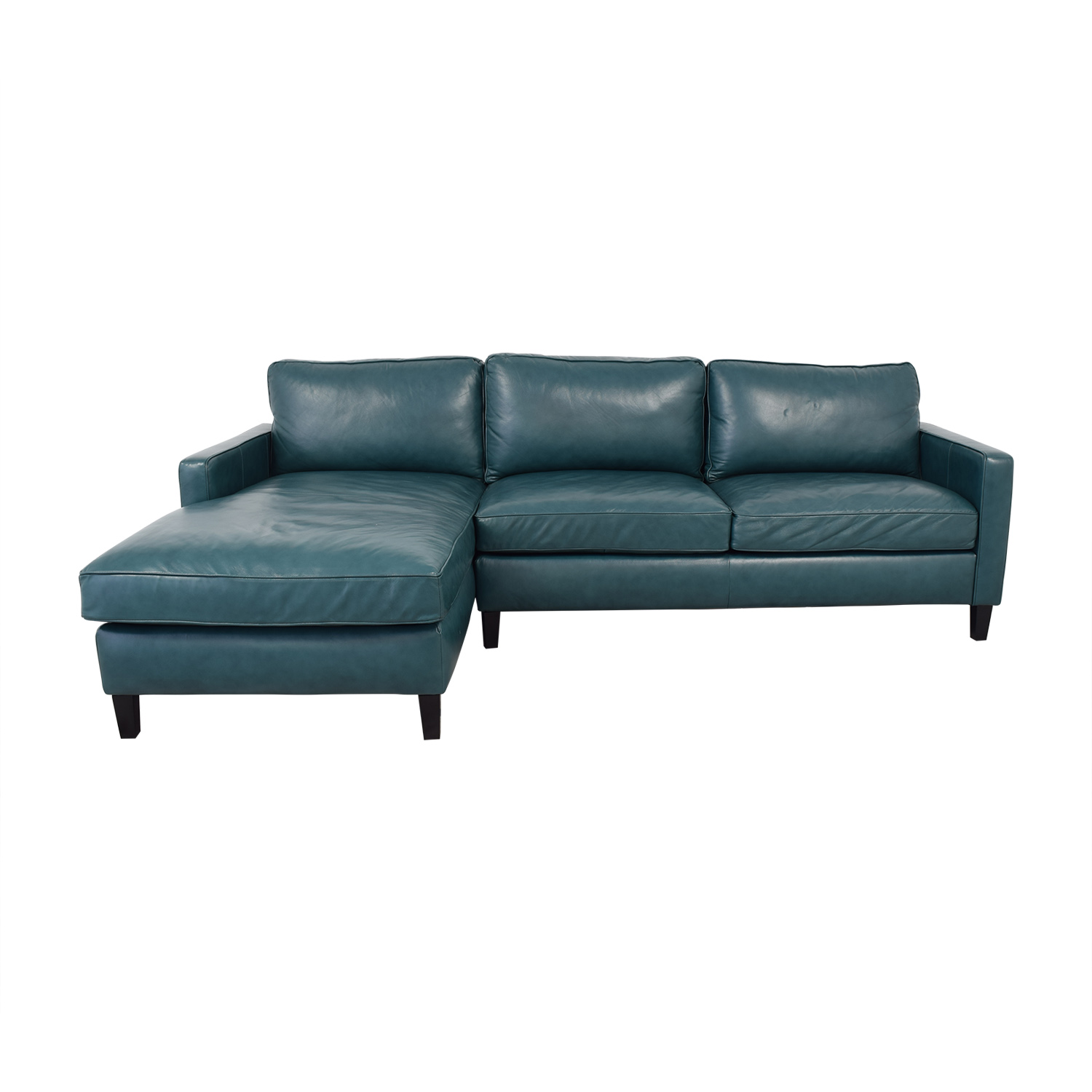 76% OFF - Brayden Studio Brayden Studio Chaise Sectional Sofa / Sofas
