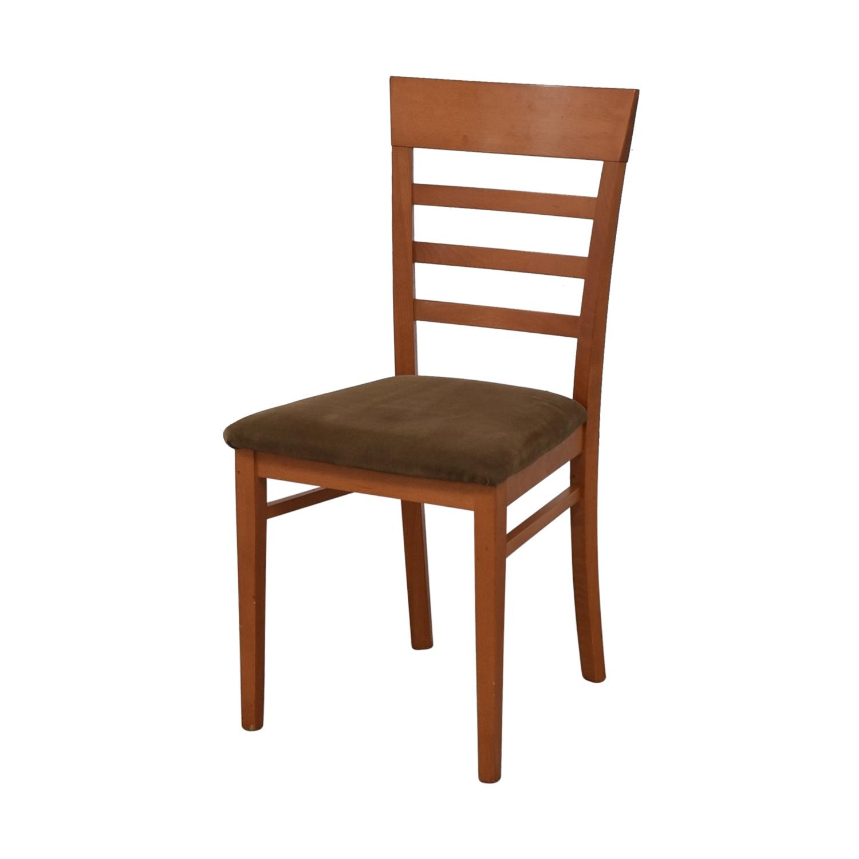 shop SA A Sibau Ladder Back Dining Side Chairs SA A. Sibau Dining Chairs