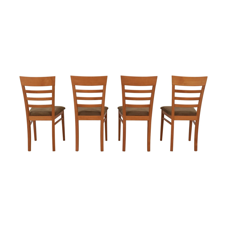 SA A. Sibau SA A Sibau Ladder Back Dining Side Chairs nj