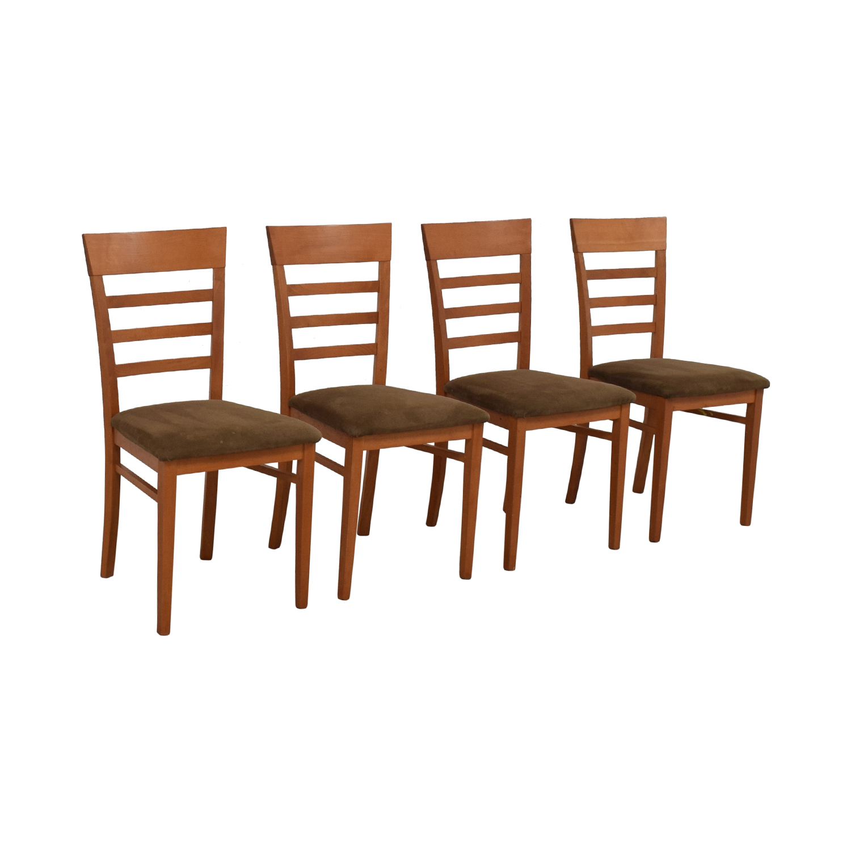 buy SA A Sibau Ladder Back Dining Side Chairs SA A. Sibau