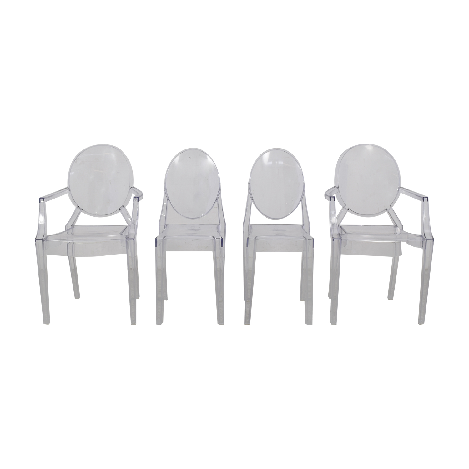 Rove Concepts Rove Concepts Victoria Ghost Arm and Side Chairs nj