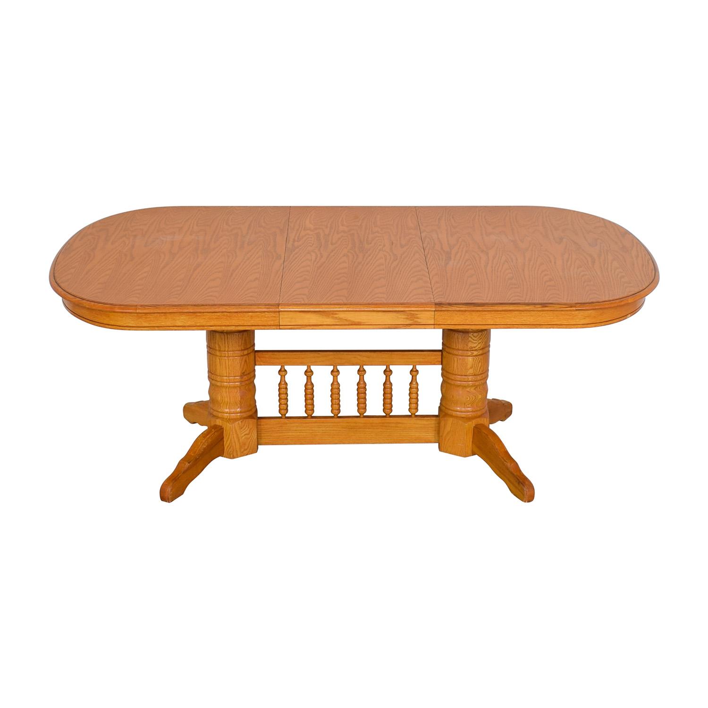 Greenbaum Interiors Greenbaum Interiors Extended Dining Table
