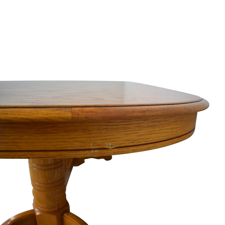 Greenbaum Interiors Greenbaum Interiors Extended Dining Table dimensions