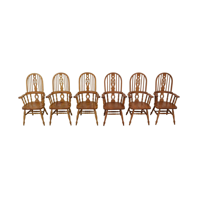 Greenbaum Interiors Greenbaum Interiors Windsor Dining Chairs nyc