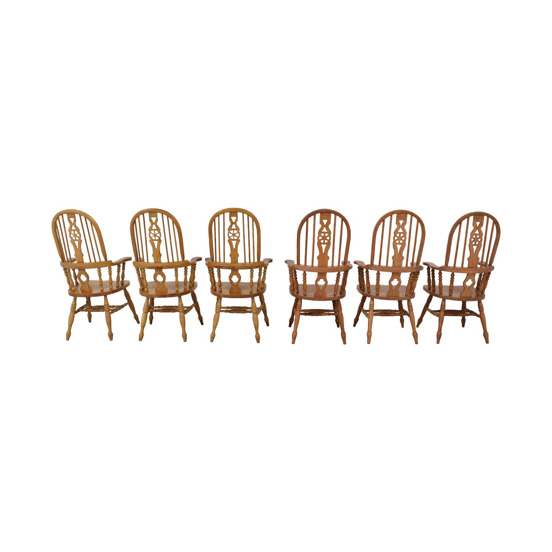 Greenbaum Interiors Greenbaum Interiors Windsor Dining Chairs price