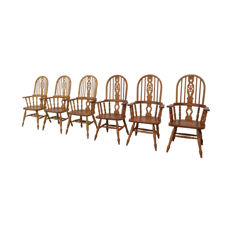 buy Greenbaum Interiors Windsor Dining Chairs Greenbaum Interiors