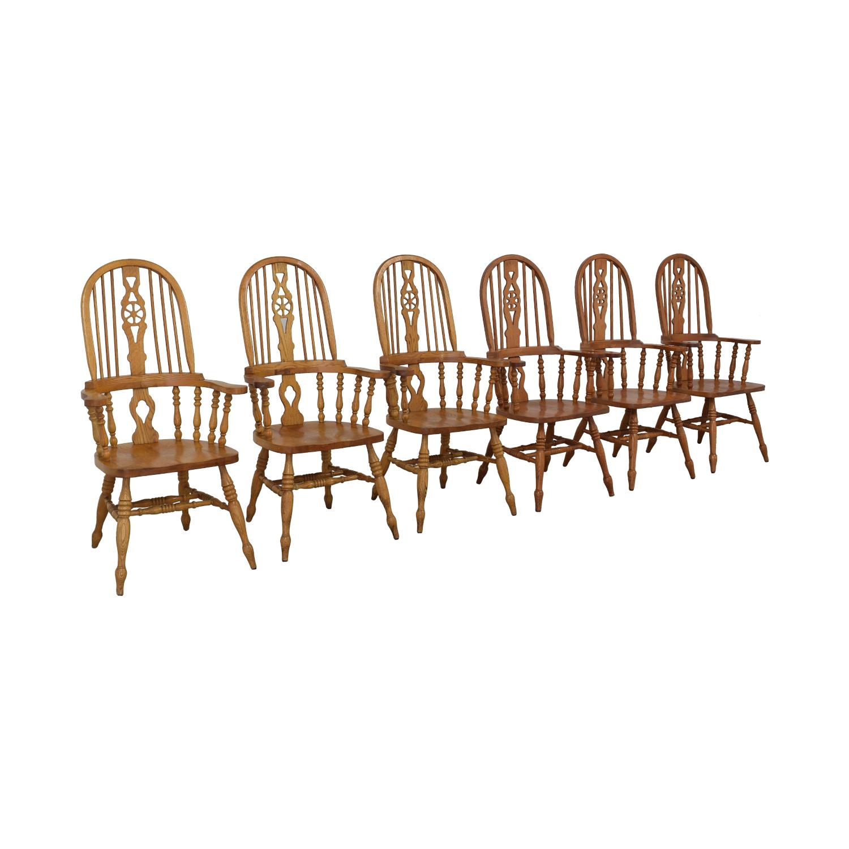 Greenbaum Interiors Greenbaum Interiors Windsor Dining Chairs on sale
