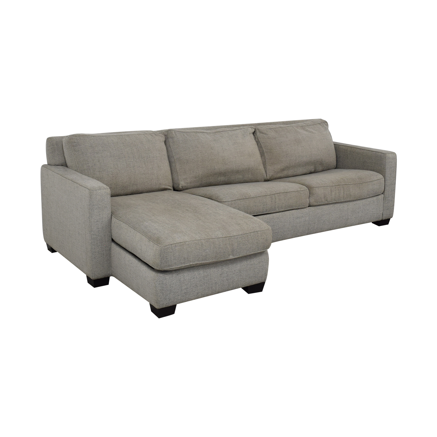 West Elm West Elm Henry Sleeper Sectional Sofa with Storage Sofas