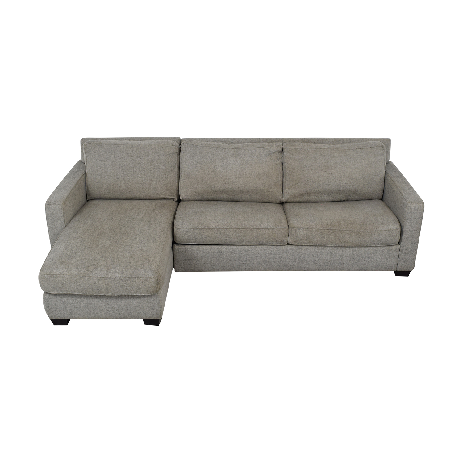 West Elm West Elm Henry Sleeper Sectional Sofa with Storage used