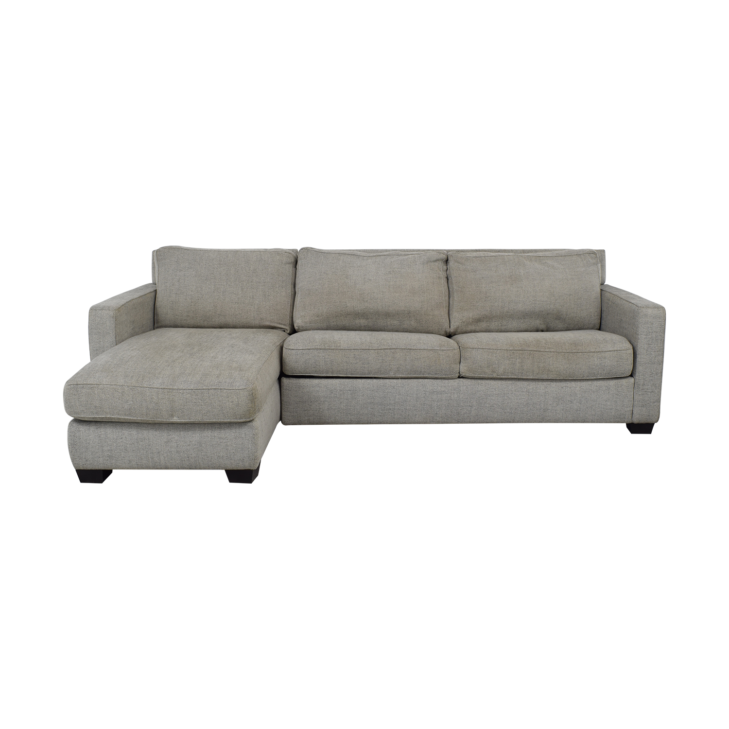 West Elm West Elm Henry Sleeper Sectional Sofa with Storage nj