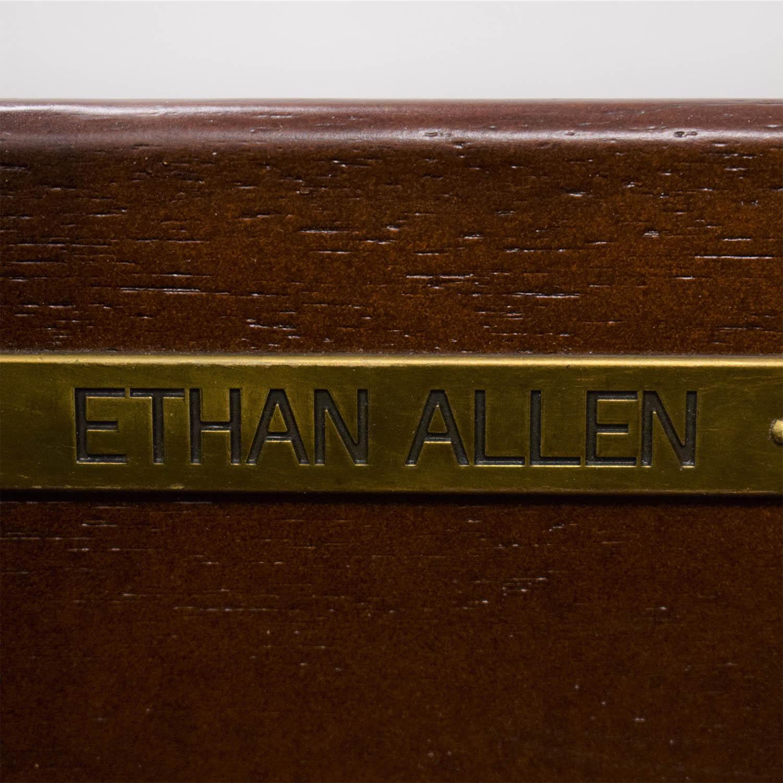 Ethan Allen Ethan Allen Morley Mahogony Coffee Table brown