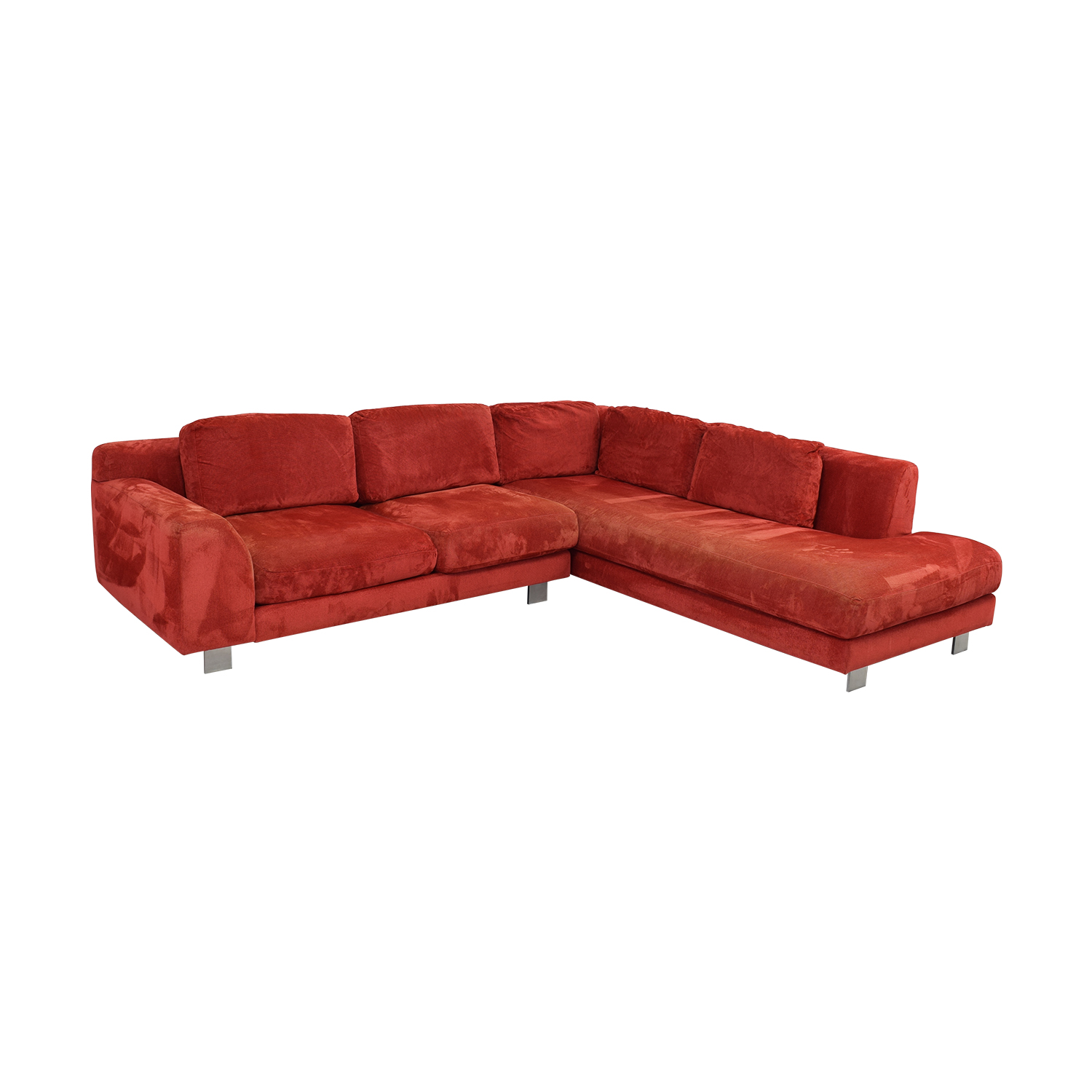 Calligaris Calligaris Sectional Sofa red