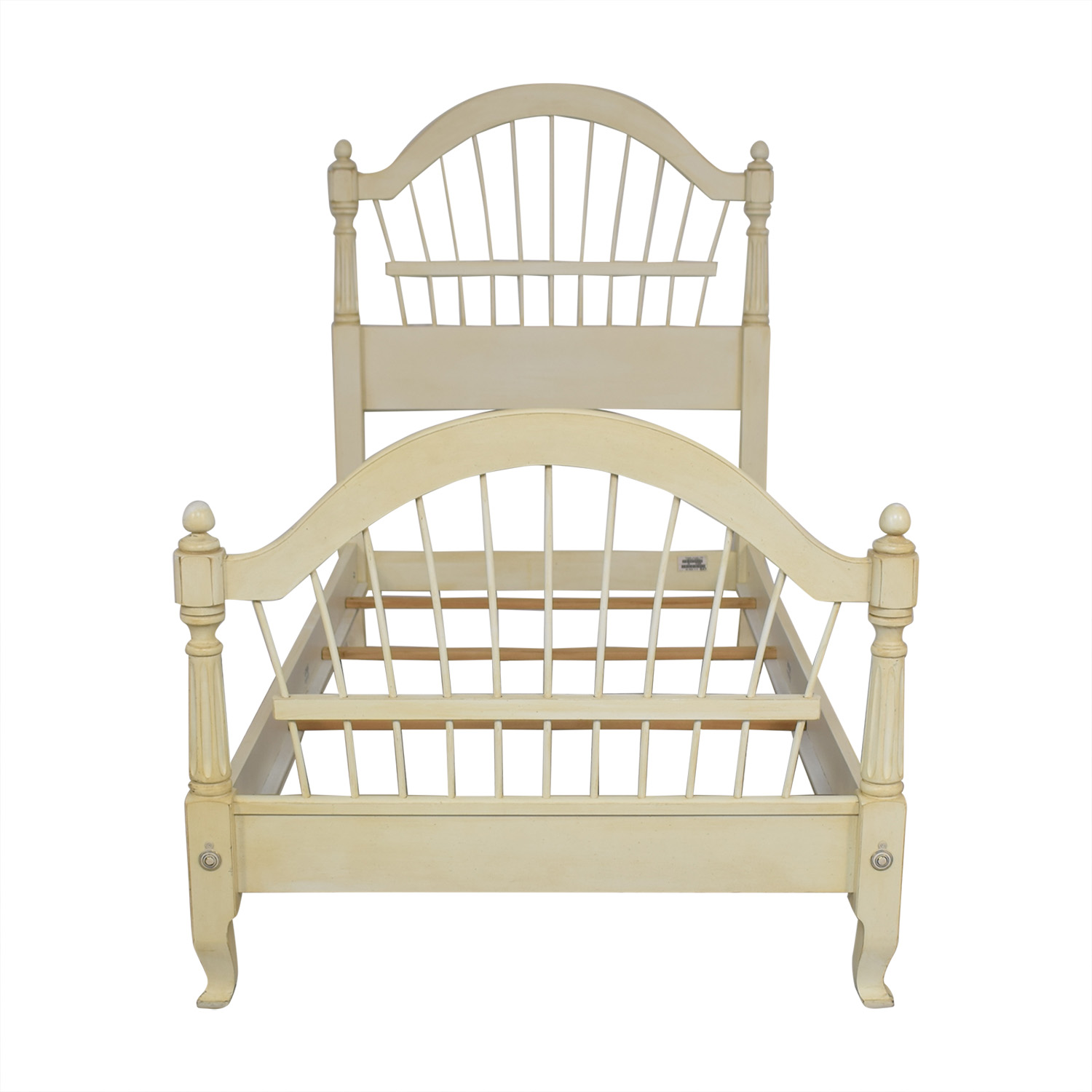 Ethan Allen Country French Twin Bed / Beds