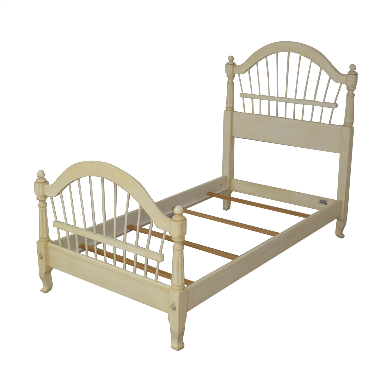 shop Ethan Allen Country French Twin Bed Ethan Allen Beds