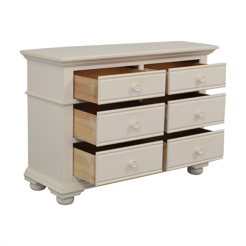 American Woodcrafters American Woodcrafters Double Dresser Storage
