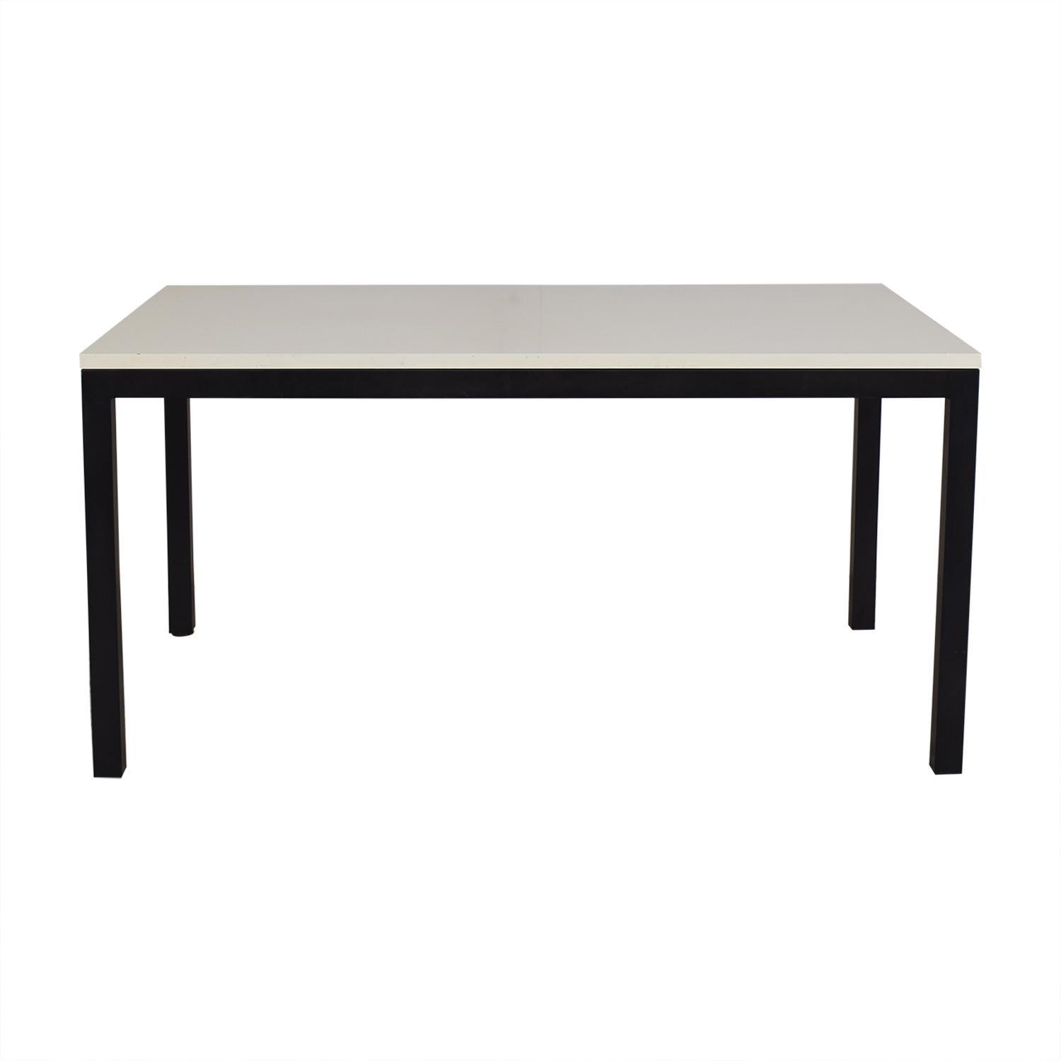 Crate & Barrel Crate & Barrel Parsons Dining Table dimensions